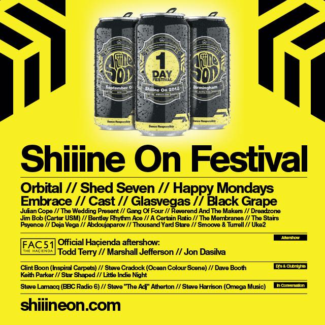 PLAYLIST: Shiiine On Festival @ Genting Arena, Birmingham